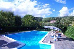 Vista panoramica piscina