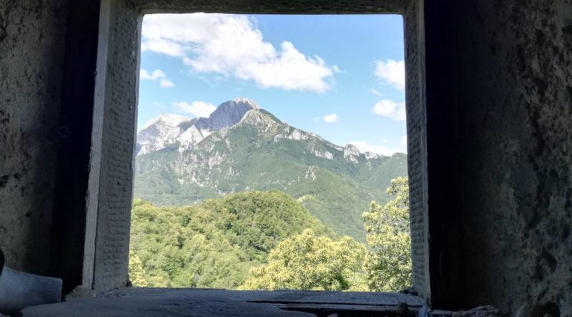 panorama dalla finestra annesso