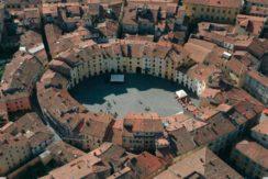 Panorama piazza