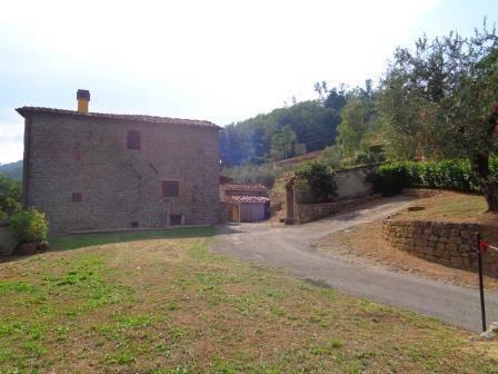 L'arrivo al casale - Arrival at the farmhouse